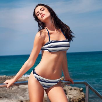 Bikini SANTA MONICA - Beachwear Bellissima - coppa b - costumi da bagno